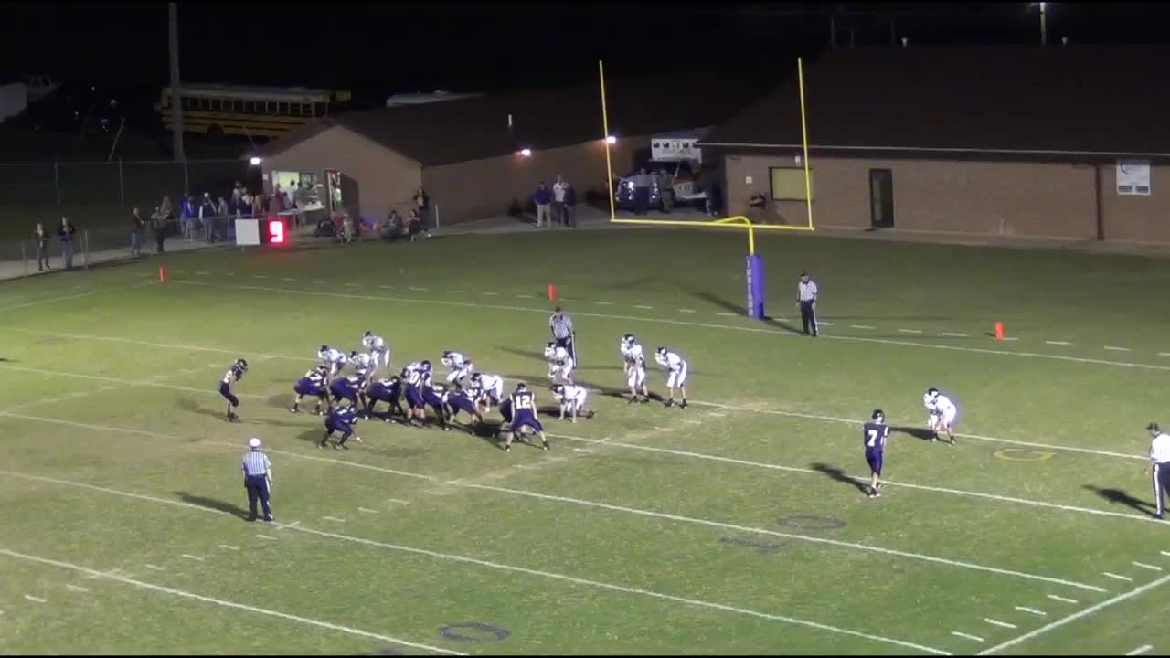Tennessee marion county sequatchie - Blake Zeman Playing Football Against Sequatchie County During The 2012 2013 Season For Marion County High School In Jasper Tn