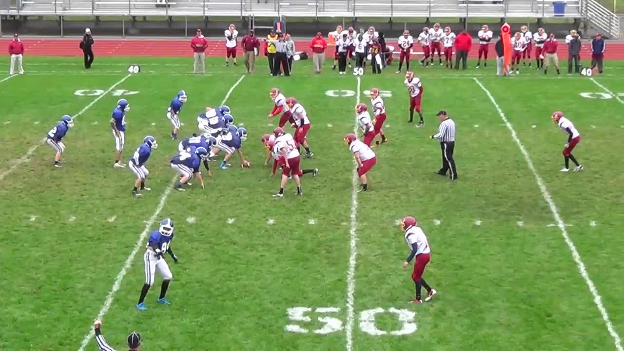 brandon ellis playing football against ithaca during the 2013 2014 jesse wintermute playing football against ithaca during the 2013 2014 season for horseheads high school in horseheads ny