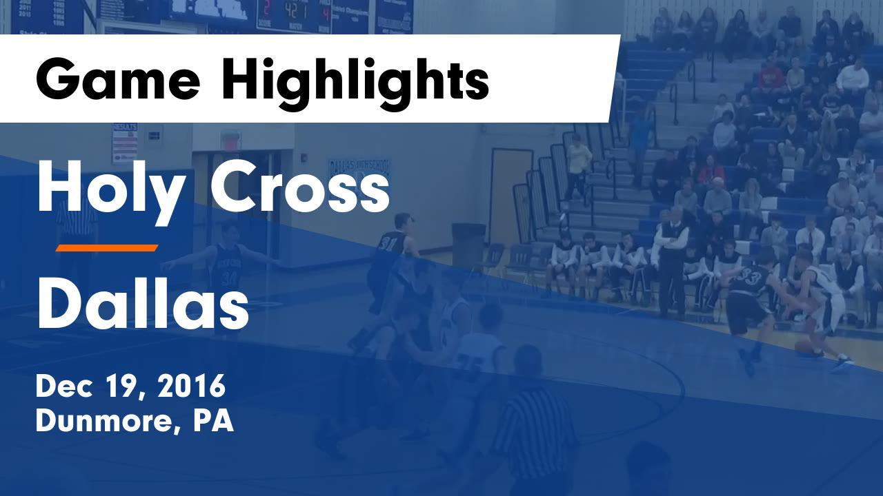 Boys' Varsity Basketball - Holy Cross High School - Dunmore ...