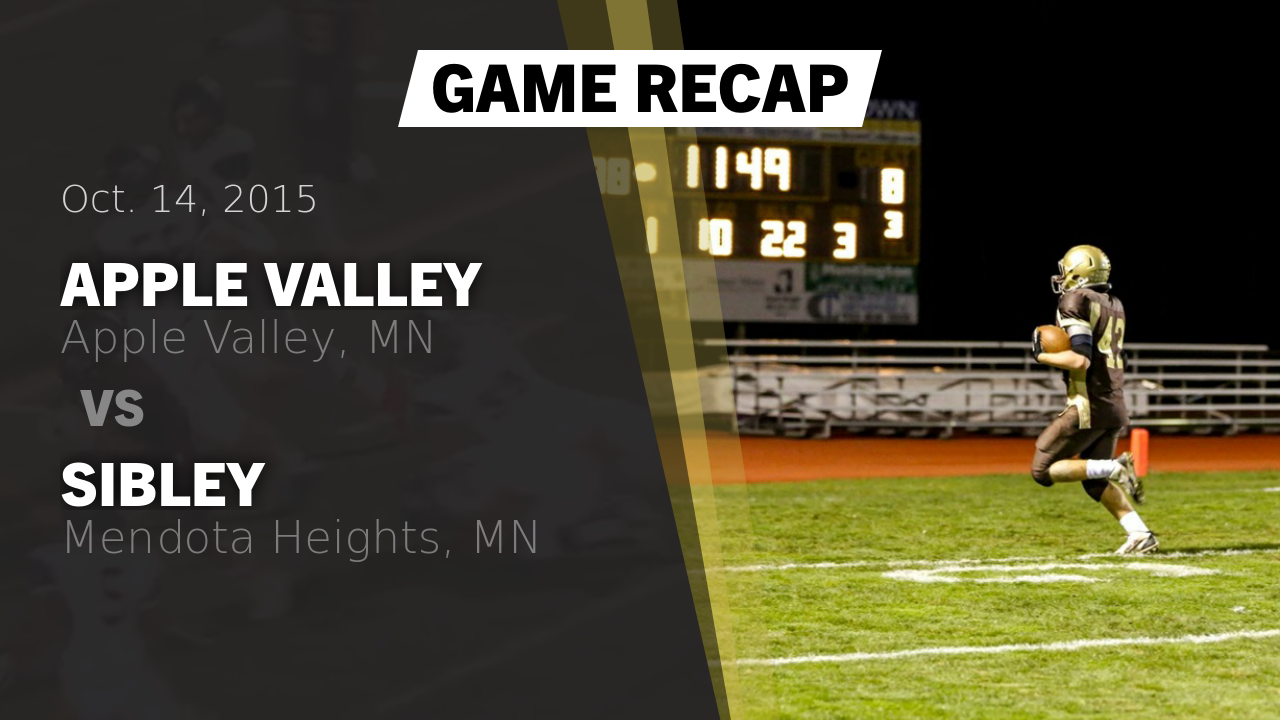 Apple Valley football highlights Recap: Apple Valley vs ...