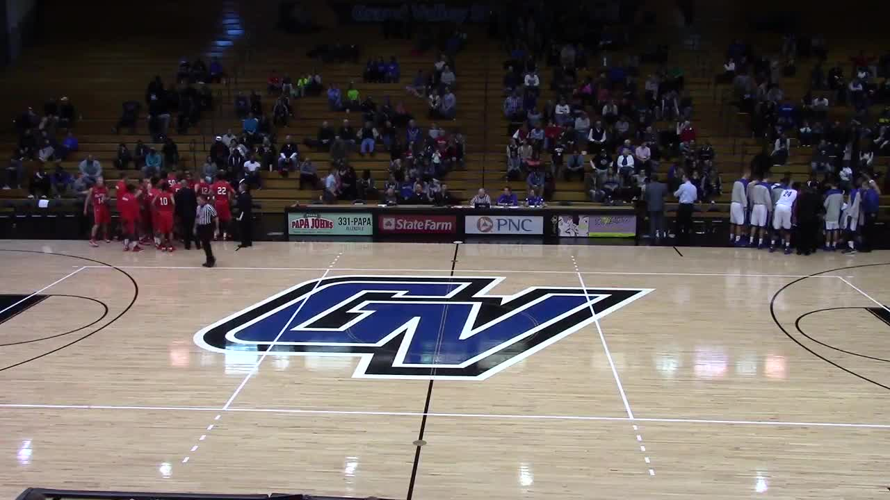 Grand Valley State University vs. Olivet - Trevin Alexander highlights