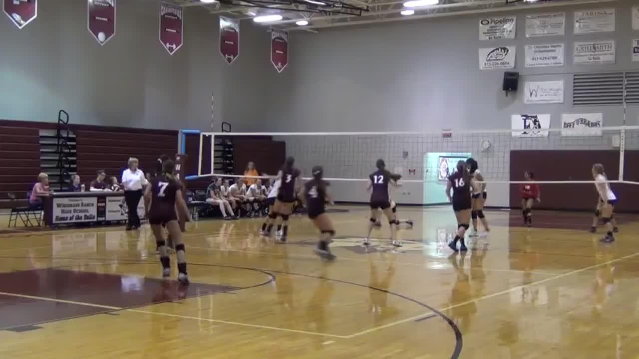 vs. Wiregrass Ranch High School - Girls JV Volleyball - Brie ...