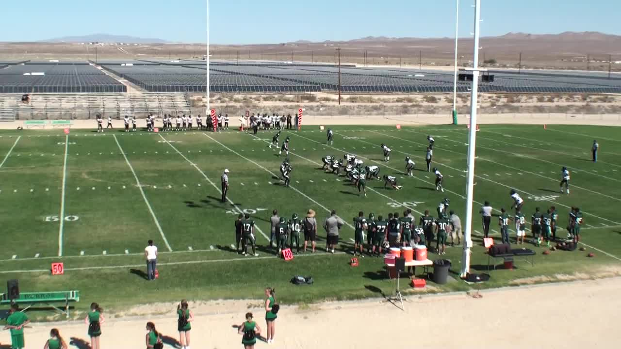Jv Football Burroughs High School Ridgecrest California