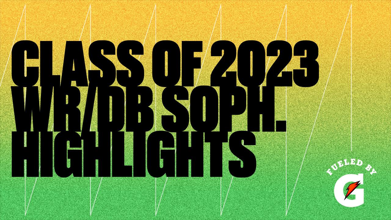 Class of 2023 WR/DB Soph. Highlights